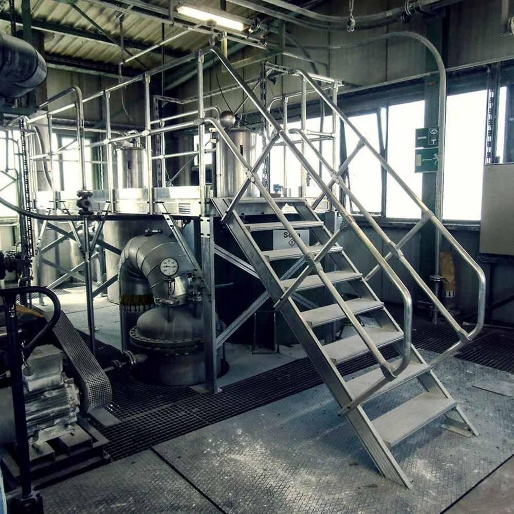 Alumínium munkaállvány gépek karbantartásához