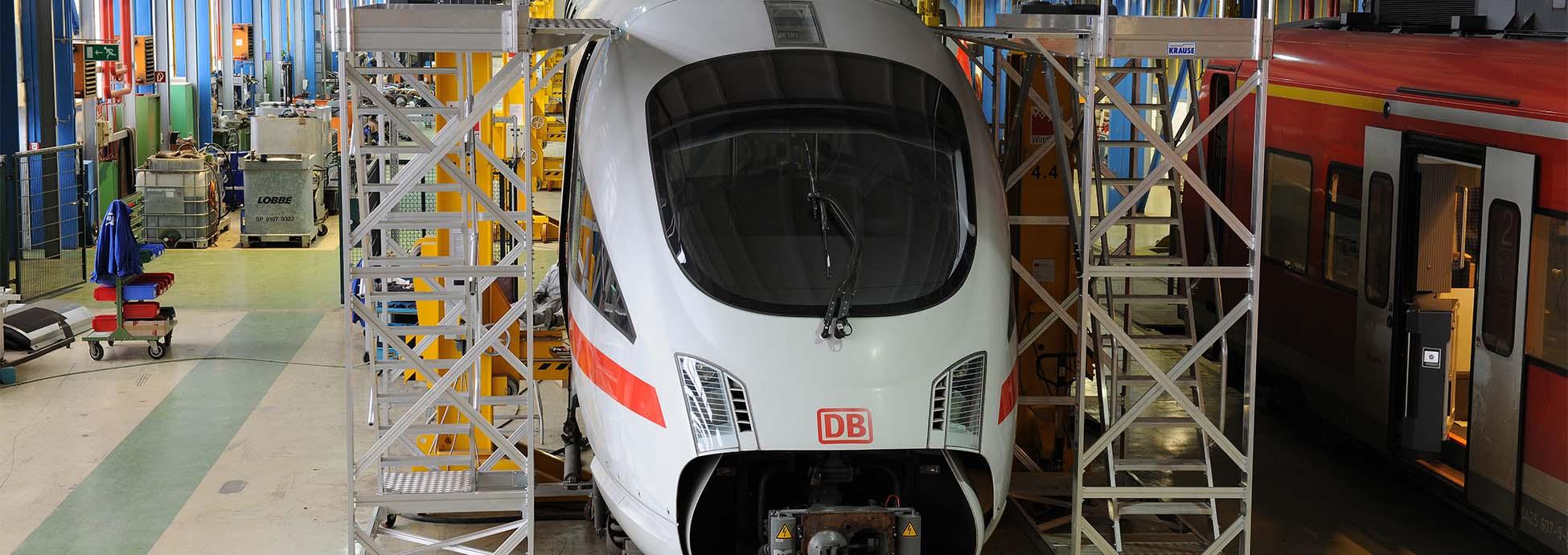 Gurítható alumínium munkaállvány vonatok karbantartásához